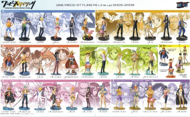 one piece styling figures one piece encyclop die fandom powered by wikia. Black Bedroom Furniture Sets. Home Design Ideas