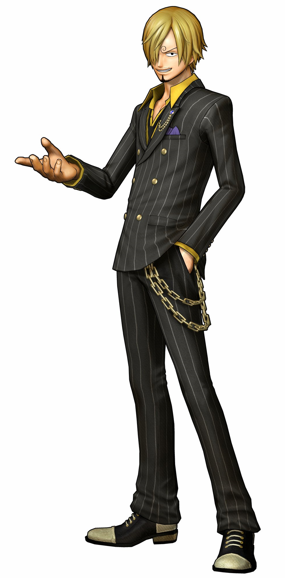 Fichier:Sanji Pirate Warriors 3.png | One Piece ... Zoro Roronoa New World