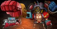 One Piece Burning Blood Franky & General Franky (Artwork)
