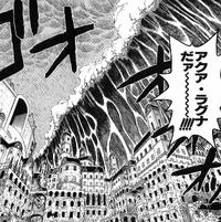 Aqua Laguna in the Manga