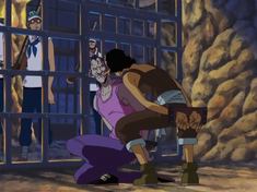 Condoriano Being Identified by Usopp