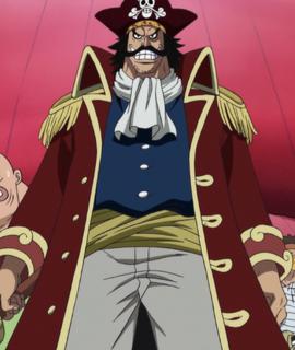 Gol D. Roger en el anime