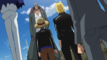 Kuzan Warns Straw Hats About Z