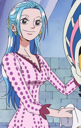 Нефертари Виви в аниме до таймскипа