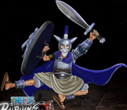 One Piece Burning Blood Platinum Armor Luffy (Artwork)