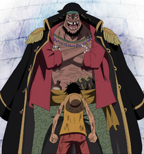 Blackbeard and Luffy