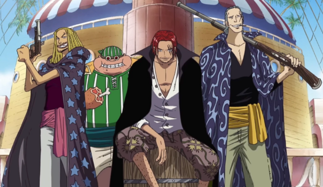 File:Red Hair Pirates' Main Members' Current Appearances.png