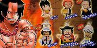 One Piece Marineford Series1 Cellphone Strap