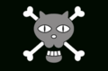 Black Cat Pirates' Jolly Roger.png