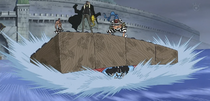 Impel Down Makeshift Raft