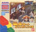 One Piece Mega Bloks Luffy & Shanks Box Front