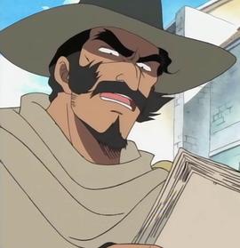 Daddy Masterson en el anime