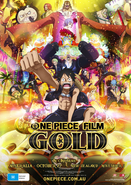 One Piece Film Gold AU Poster