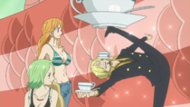 Sanji Offering Tea