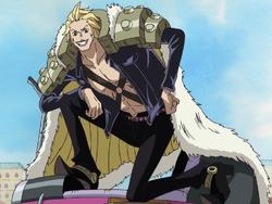 Duval en el anime
