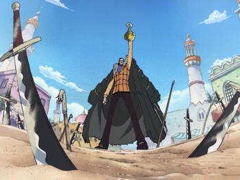 Крокодайл против Пиратов Пуппу