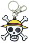 Straw Hat Jolly Roger Keychain