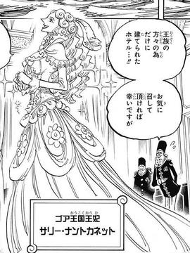 Sarie Nantokanette en el manga