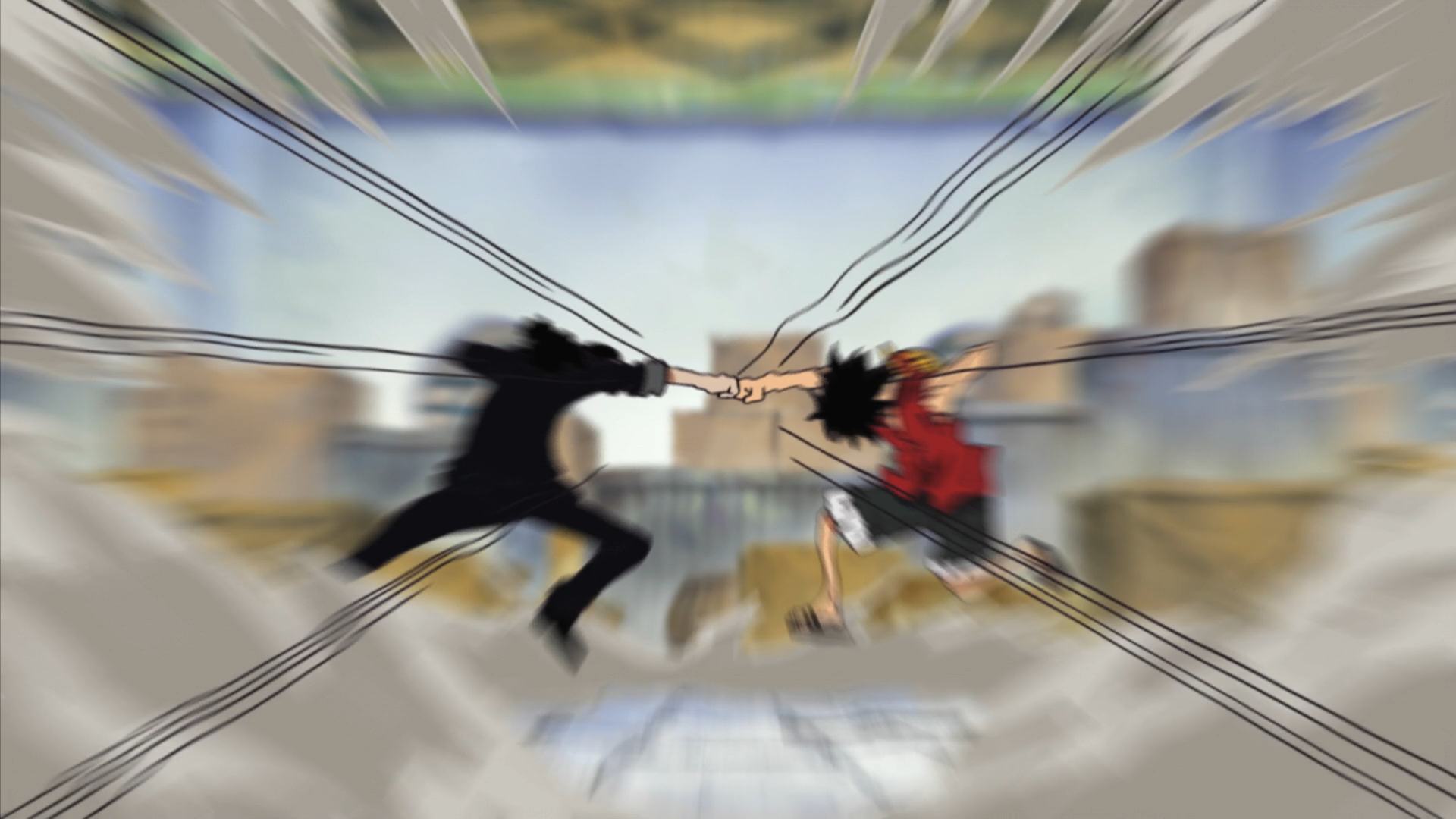 File:Luffy and Lucci Clash.png