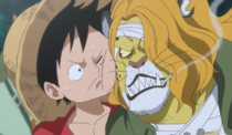 Pedro Meets Luffy