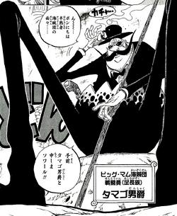 Tamago en el manga