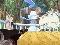 Nami and Gan Fall vs. Hotori and Kotori