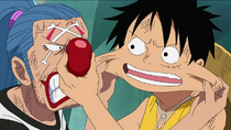 Buggy and Luffy