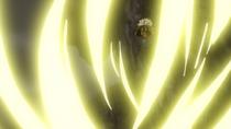 Shiki's Combine Use of His Devil Fruit Abilities and Swordsmanship