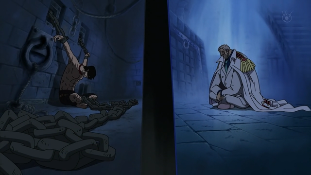 File:Ace and Garp in Impel Down.png