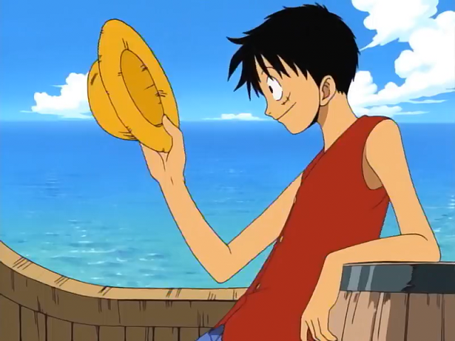 File:Luffy and Straw Hat We Are!.png