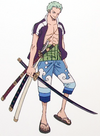 Zoro Z's Ambition Arc Outfit