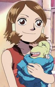 Abi and Baby Yagara Bull