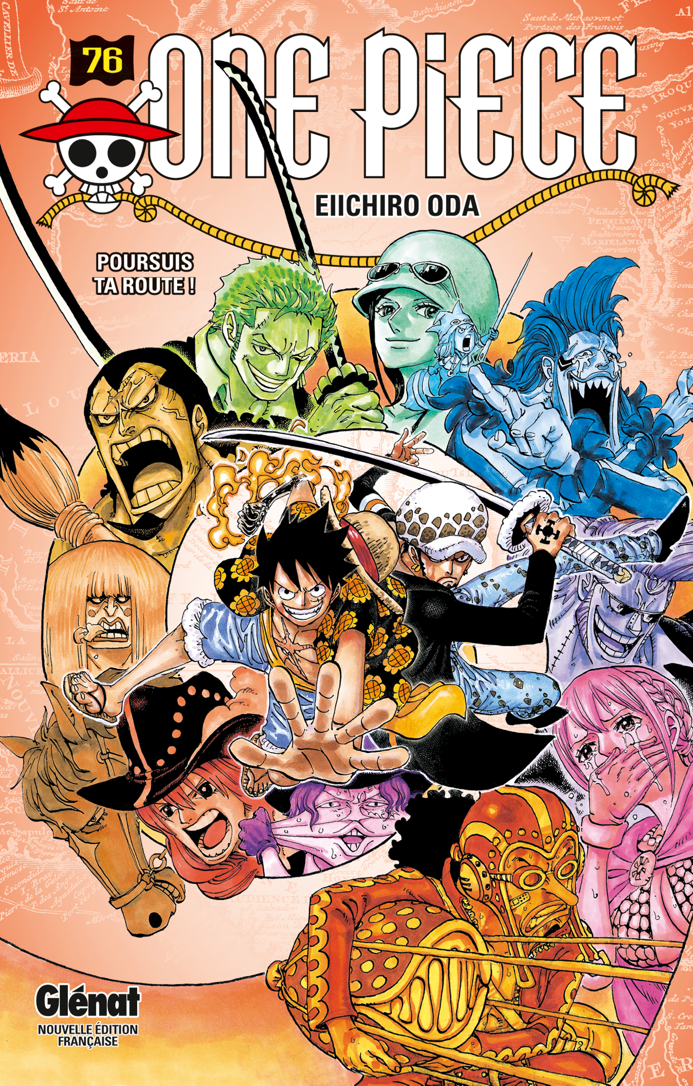 tome 76 one piece encyclop die fandom powered by wikia. Black Bedroom Furniture Sets. Home Design Ideas