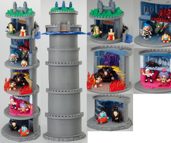One Piece The Combining Prison Impel Down Diorama