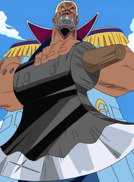 Morgan en el anime