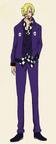 Sanji Episode of Luffy