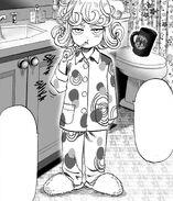 Tatsumaki in pajamas