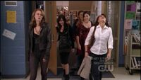509 the girls leave the library