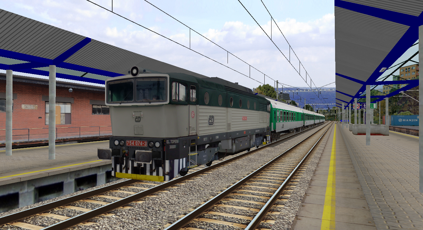 Openbve Rolling Stock For China: OBTS Trains+Routes For Italy