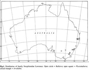 Location Arrallaba spheniscus h-c-1991