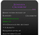 Sunsaya Crossbow