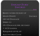 Swamp Fury Sword