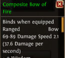Composite Bow of Fire