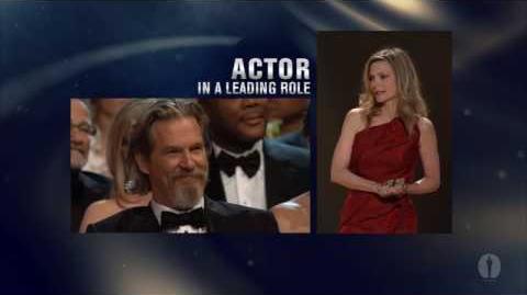 Jeff Bridges winning Best Actor
