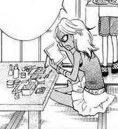 Mei getting ready 2