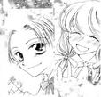 Hina and shiro happy