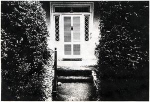 Asa Wolverton house door