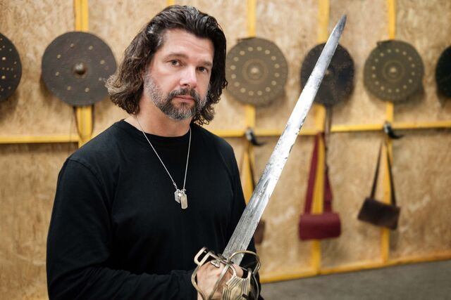 File:Ron D Moore sword.jpg