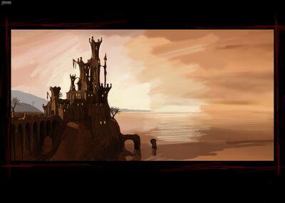 Castle Gromgard-Landscape