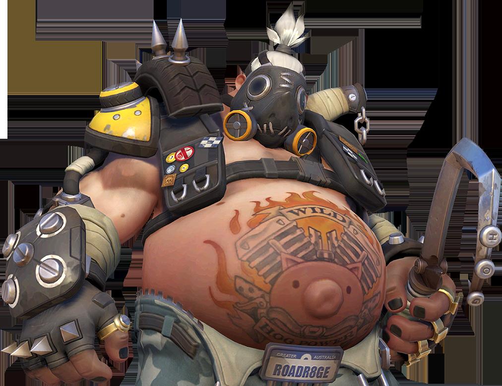 how tall is overwatch roadhog